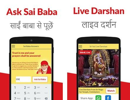 Sai Baba Live Darshan & Sai Baba Answers 1 11 apk download