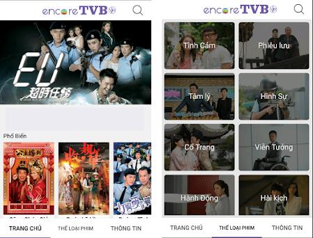 encoreTVB Viet 1 10 apk download for Android • com tvbusa