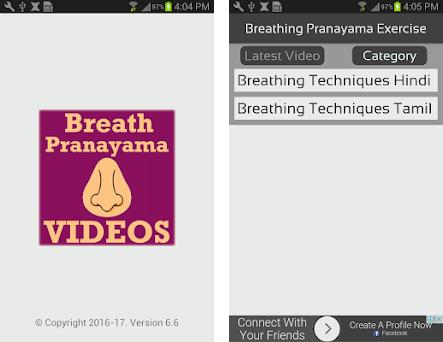 Breathing Pranayama Exercise Videos App 6 6 apk download for