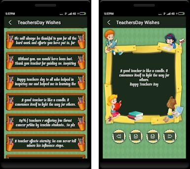Teachers day wishes in English on Windows PC Download Free - 1 3