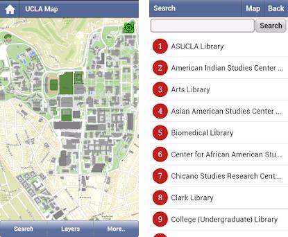 UCLA Campus Map 1.0.25 apk download for Android • air.edu.ucla.gs on