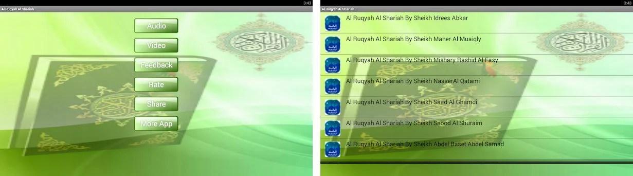 Al Ruqyah Al Shariah mp3 / mp4 1 2 apk download for Android