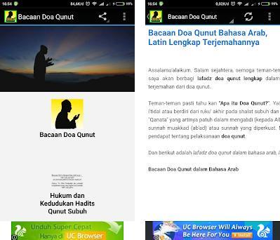 Bacaan Doa Qunut Bahasa Arab Latin Terjemahannya 10 Apk