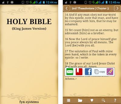 holy bible 40 versions offline apk download