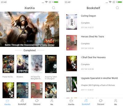 XianXia-Wuxiaworld,fantasy,martial art novels 1 6 5 apk