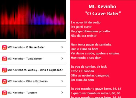 MC Kevinho - O Grave Bater on Windows PC Download Free - 1 0