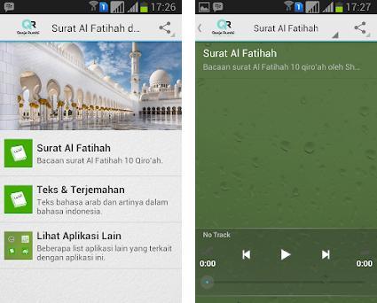 Surat Al Fatihah Dan Artinya 30 Apk Download For Android