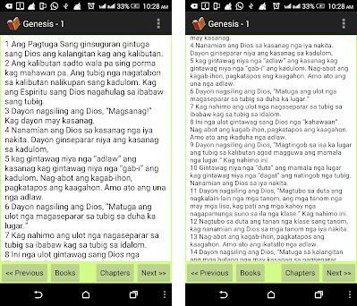 Hiligaynon Bible (Ilonggo) on Windows PC Download Free - 2 1
