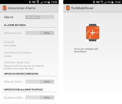 Techmade Smartwatch Round Imagem da captura de tela