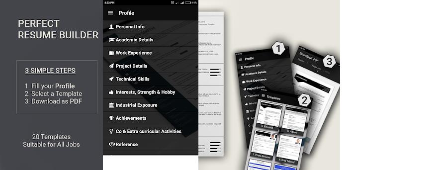 free resume builder cv maker templates formats app 9 2 apk download