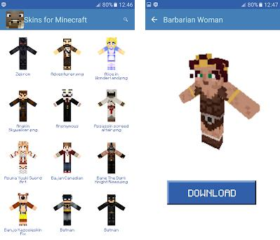 Skins for Minecraft 1 0 apk download for Android • com