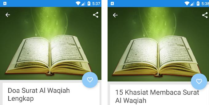 Surat Al Waqiah Arab Dan Fadilah Nya 240 Apk Download For