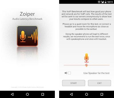 Zoiper Audio Latency Benchmark 1 2 apk download for Android • com
