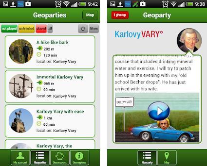 GEOFUN® - trip games preview screenshot