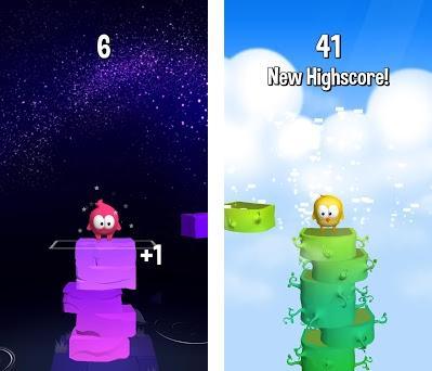 Stack Jump Capturas de pantalla
