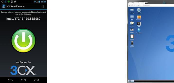 3CX DroidDesktop on Windows PC Download Free - 8 0 204 - net xdevelop rm