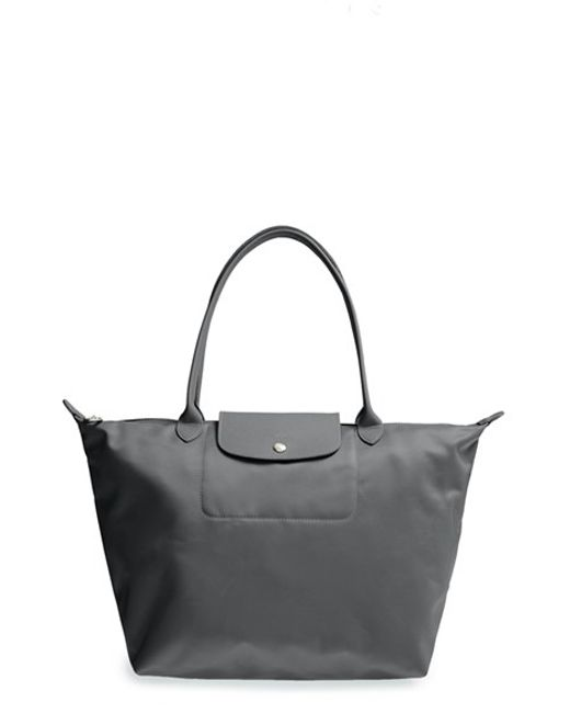 8f2312a24eba9 Longchamp Le Pliage Neo Medium Tote In Black Lyst - Modern Home ...