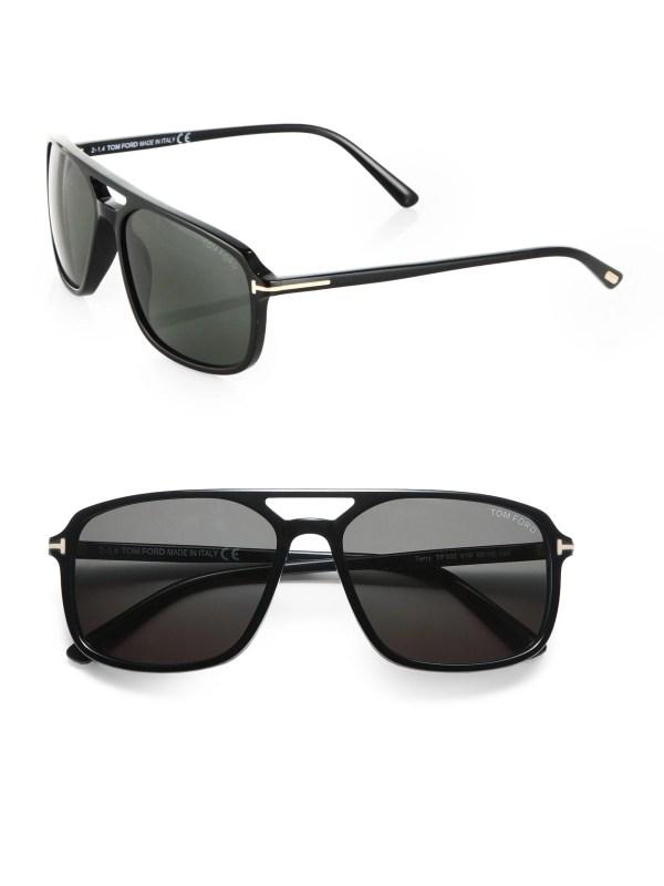 Tom Ford Flynn 58mm Acetate Sunglasses In Black Men - Lyst