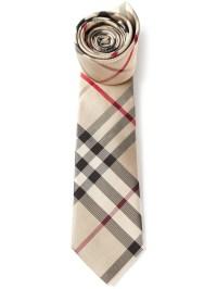 Lyst - Burberry Nova Check Tie in Brown for Men