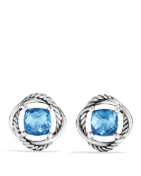 Lyst - David yurman Infinity Earrings With Hampton Blue ...