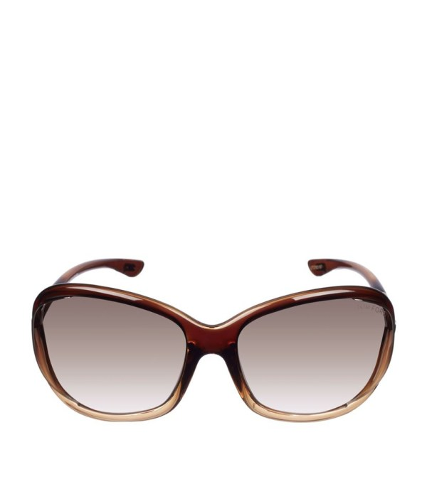 Tom Ford Jennifer Soft Square Sunglasses In Brown Lyst