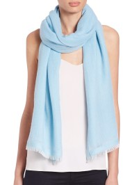 Bajra Fringed Scarf in Blue | Lyst