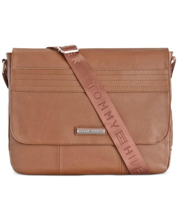 Tommy Hilfiger Morgan Messenger Bag In Brown Men