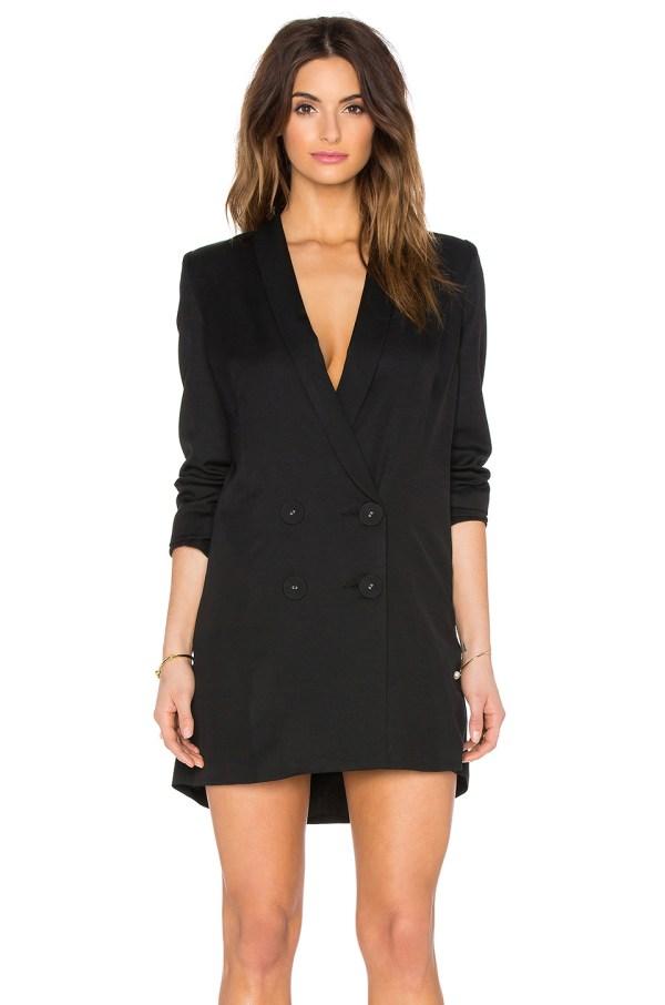 Lyst - Elliatt Maverick Blazer Dress In Black