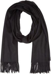 Acne studios Black Wool Canada Scarf in Black for Men | Lyst