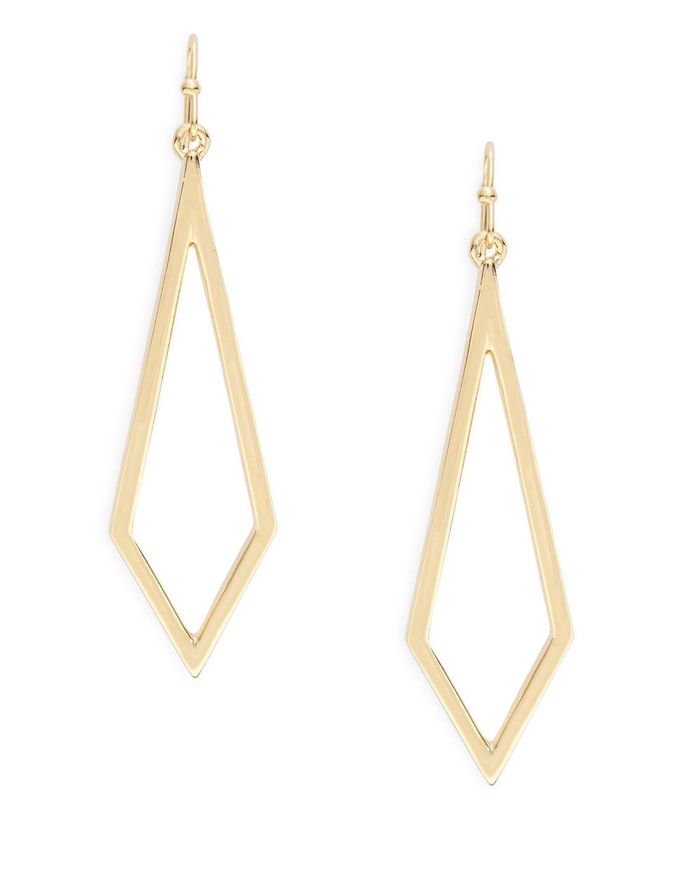 Diamond Shaped Earrings Anne Koplik Earrings Silver