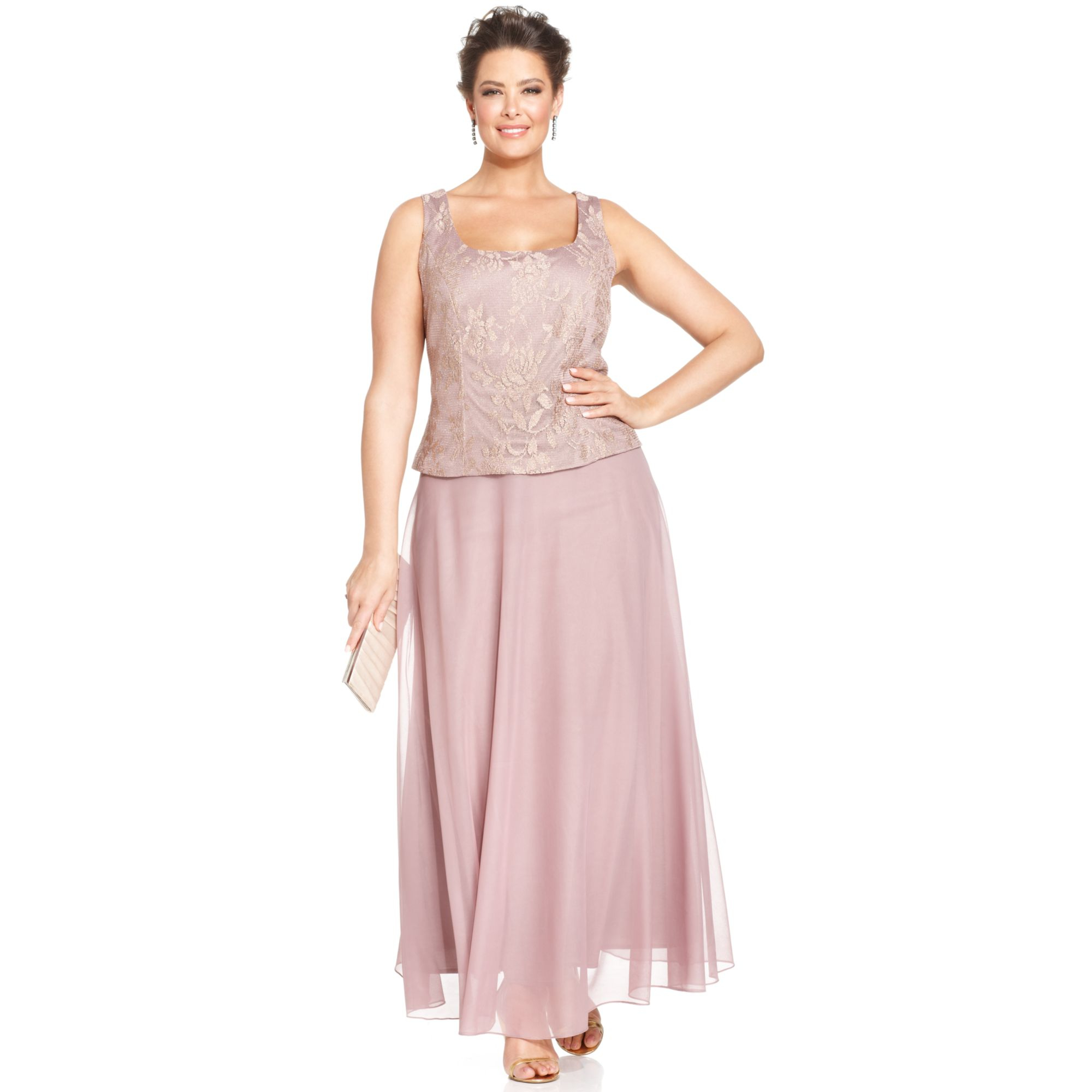 Patra Draped Evening Dress