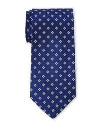 Saint laurent Royal Blue Square Silk Tie in Blue for Men ...