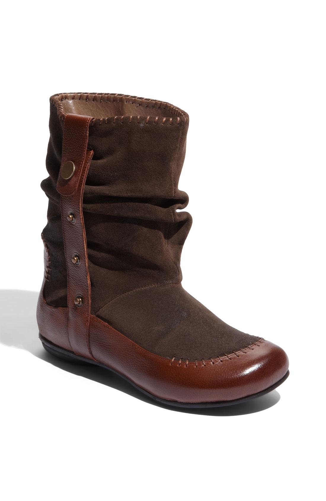 Miz Mooz Miz Mooz Dolly Ankle Boot In Brown