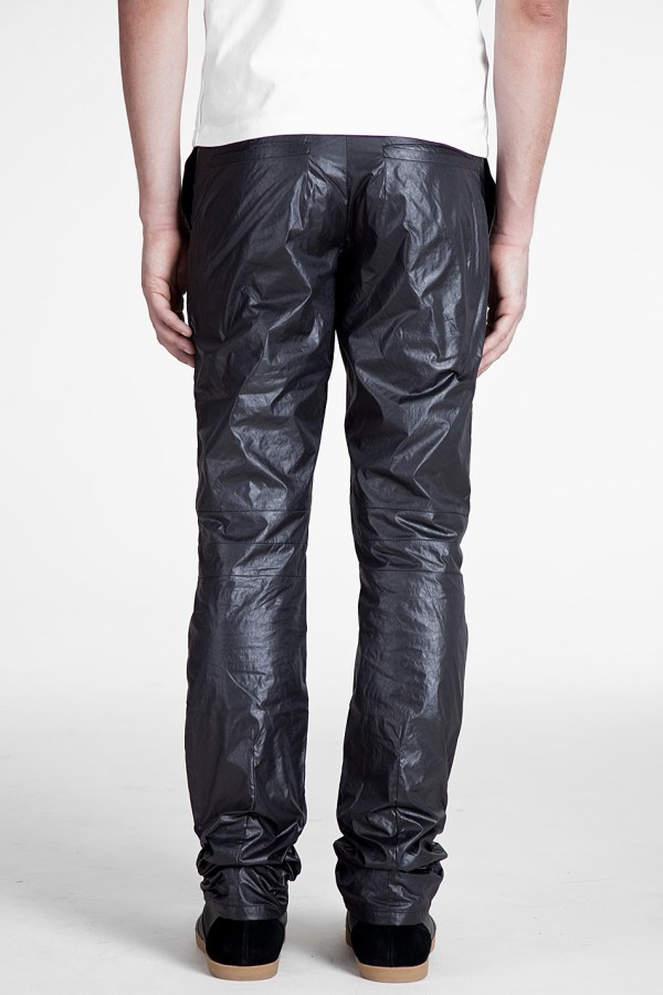 Lyst - Petar Petrov Shaped Nylon Pants In Black Men