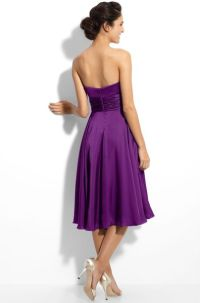 Ml Monique Lhuillier Bridesmaids Strapless Dress ...