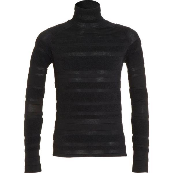 Balenciaga Stripe Turtleneck In Black Men Lyst