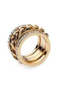 Michael Michael Kors Michael Kors Stack Ring in Gold | Lyst