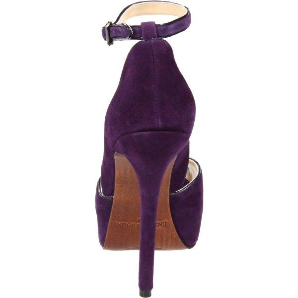 Enzo Angiolini Womens Thaddea Platform Pump In Purple
