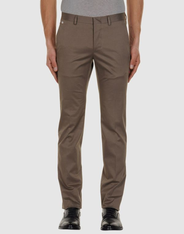 Mauro Grifoni Dress Pants In Khaki Men Lyst