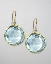 Ippolita Blue Topaz Lollipop Earrings in Blue (dark blue ...