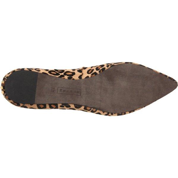 Steven Steve Madden Eternnal Pointed Toe Flat In Animal