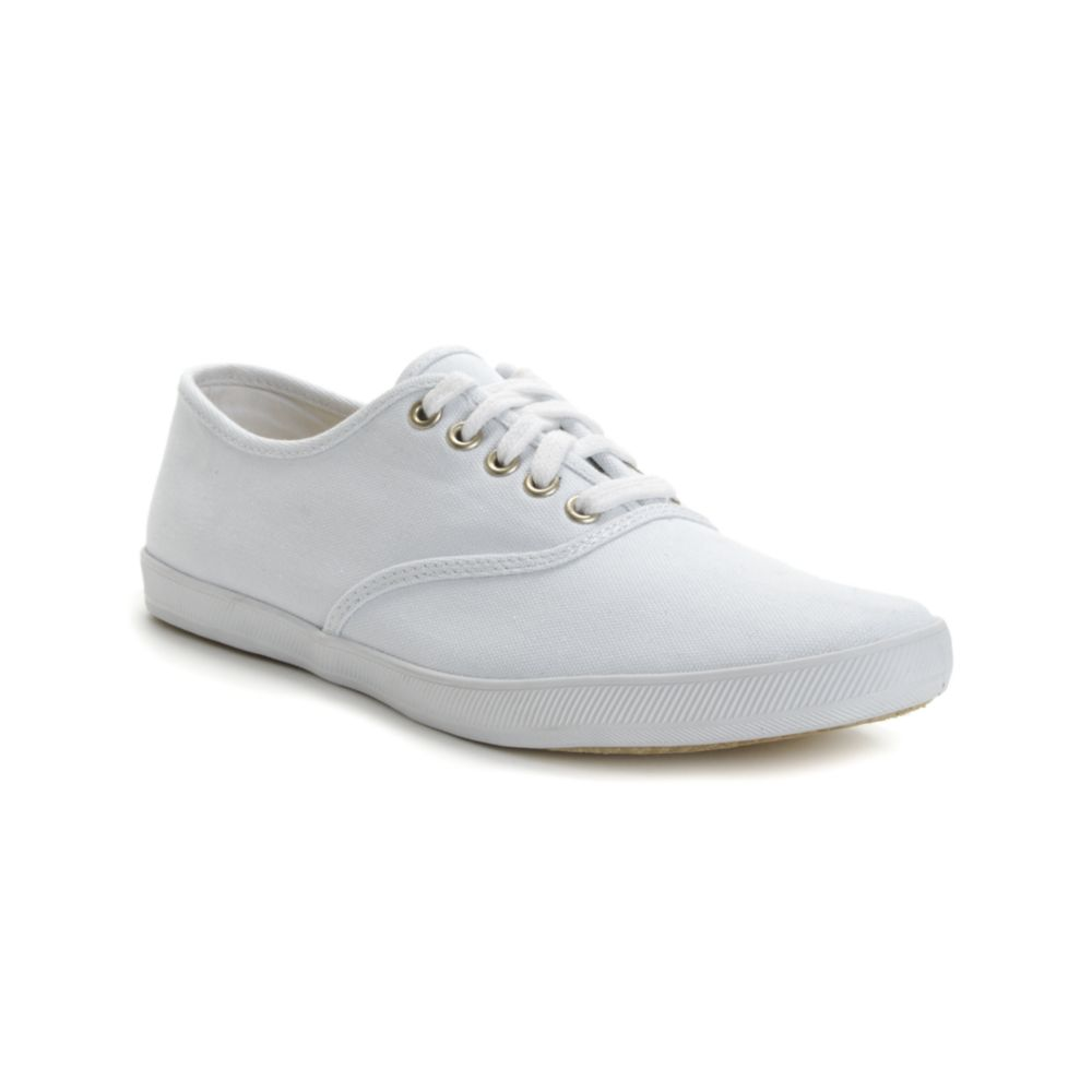 Keds Champion Canvas Original Sneakers in White for Men  Lyst