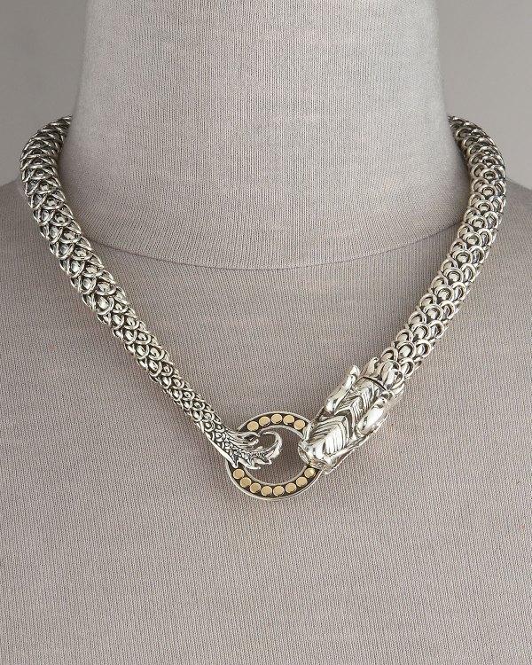 Lyst - John Hardy Naga Dragon Necklace In Metallic
