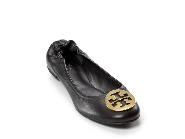 Lyst - Tory Burch Flats Reva Ballet In Black
