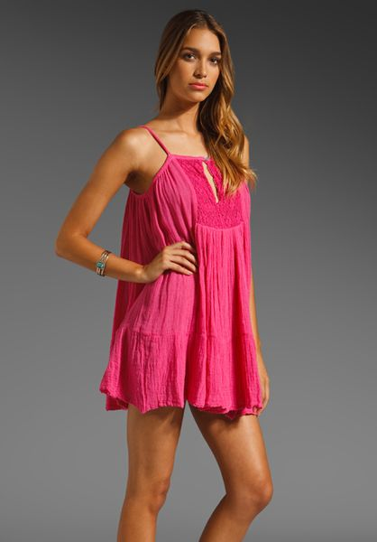 Jens Pirate Booty Summer Sun Dress in Pink pink sky  Lyst