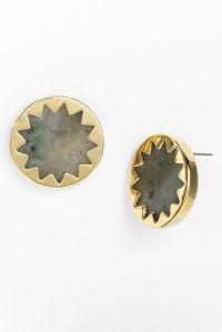 House Of Harlow 1960 Sunburst Stud Earrings in Gold ...
