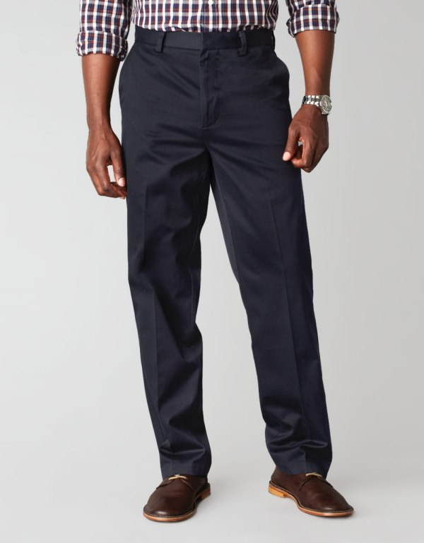 Lyst - Dockers Flatfront Khaki Pants Smart In Blue