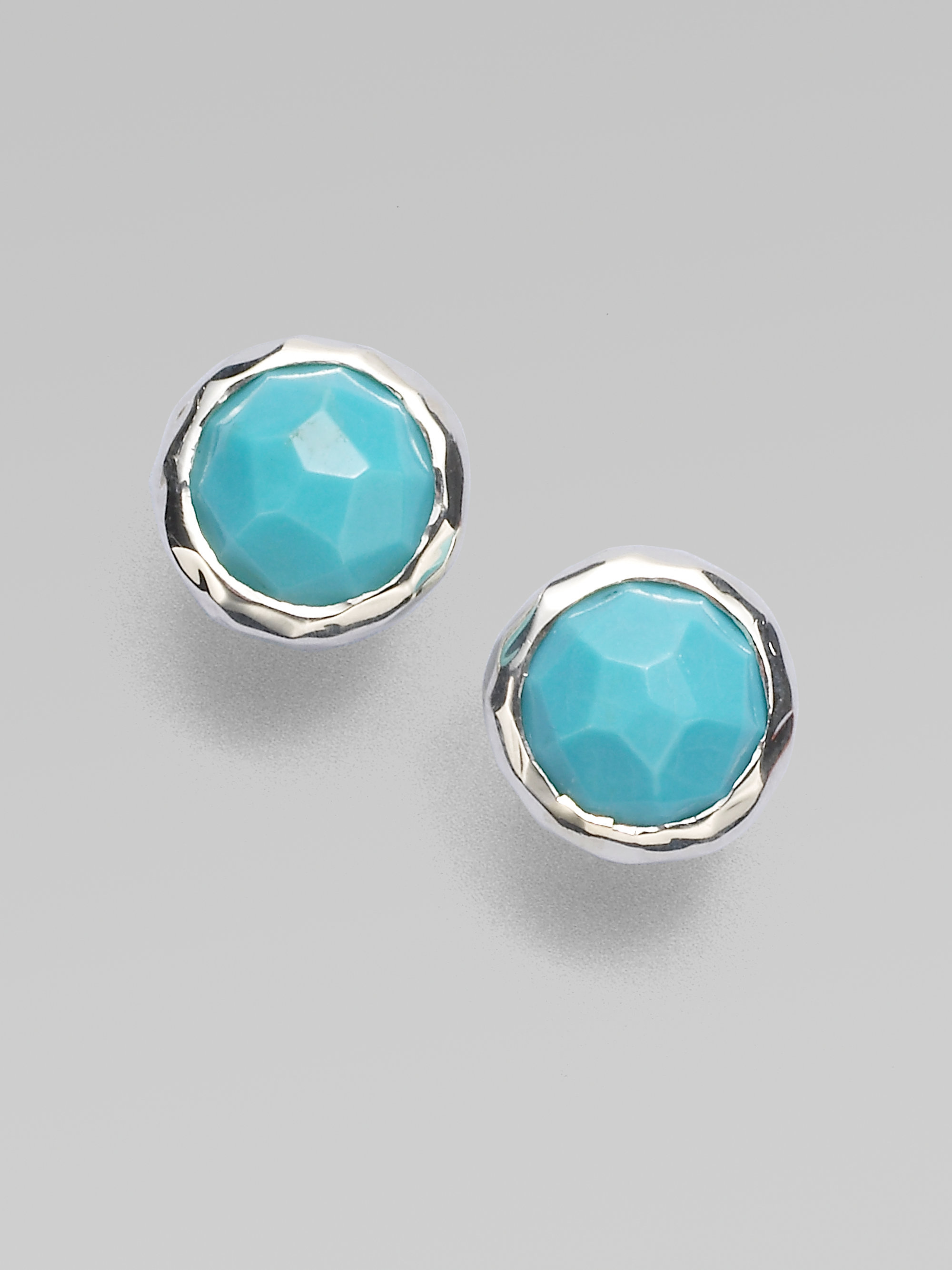 Sterling Silver Turquoise Earrings  Jewelry