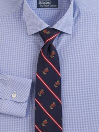 Lyst - Polo ralph lauren Printed Silk Tie in Blue for Men