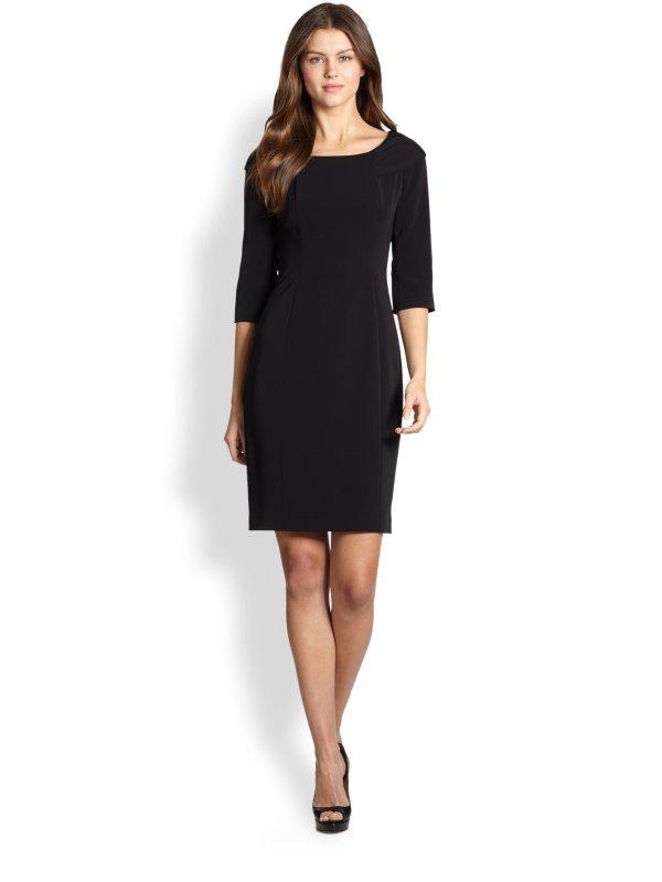 Lyst - Elie Tahari Mitsy Dress In Black